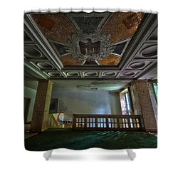 Nazis Barracks Shower Curtain by Nathan Wright
