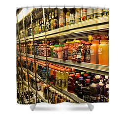 Need A Drink? Shower Curtain by Paul Ward