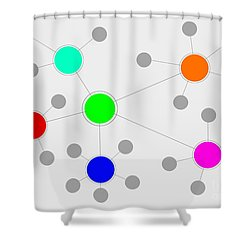 Network Shower Curtain