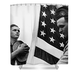 New Deal: C.c.c., C1940 Shower Curtain by Granger