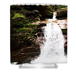 New Hampshire Waterfall Shower Curtain