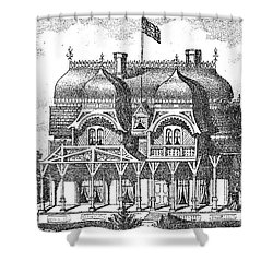 New Jersey: House, C1876 Shower Curtain by Granger