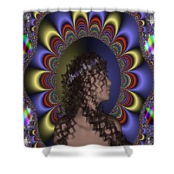 New Romantic Shower Curtain by Matthew Lacey