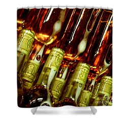 New Wine Shower Curtain by Lainie Wrightson