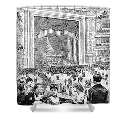 New York Charity Ball, 1884 Shower Curtain by Granger