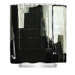 New York City Reflection Shower Curtain