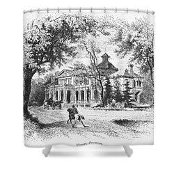New York State: House Shower Curtain by Granger