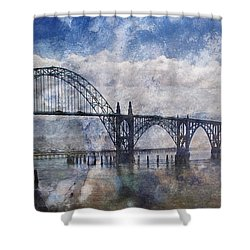 Newport Fantasy Shower Curtain by Mick Anderson