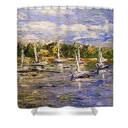 Newport Views Shower Curtain