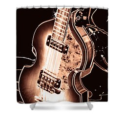 Shower Curtain featuring the photograph Next One Up by John Stuart Webbstock