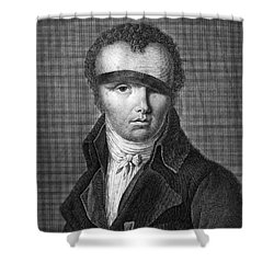Nicolas-jacques Cont�, French Inventor Shower Curtain by Photo Researchers