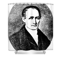 Nic�phore Ni�pce, French Inventor Shower Curtain by Science Source