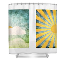 Night And Day  Shower Curtain by Setsiri Silapasuwanchai