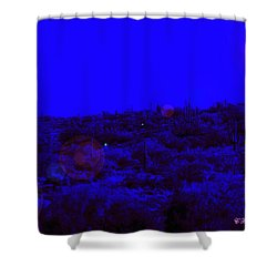 Night Or Day Shower Curtain