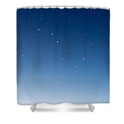 Night Sky Shower Curtain by Heidi Smith