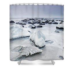 Nirvana Shower Curtain by Evgeni Dinev