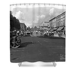 No More Dirt Streets Shower Curtain