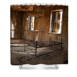 Shower Curtain featuring the photograph No More Time To Sleep by Fran Riley