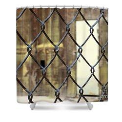 No Trespassing  Shower Curtain