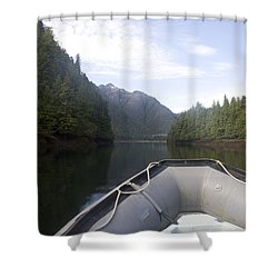Nobody,boats, Ropes, Islands,horizontal Shower Curtain by Taylor S. Kennedy