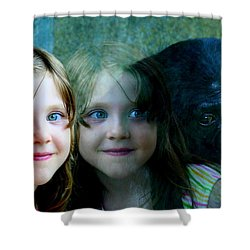 Nora's Reflection Shower Curtain