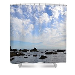 Shower Curtain featuring the photograph Northern California Coast1 by Zawhaus Photography