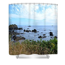 Shower Curtain featuring the photograph Northern California Coast2 by Zawhaus Photography