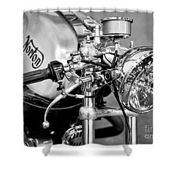 Norton Dominator Shower Curtain