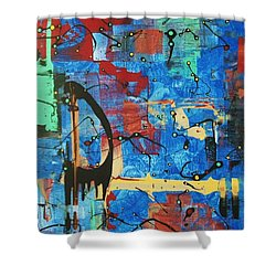 Norval Morrisseau On My Mind Shower Curtain