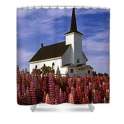 Nova Scotia Church Shower Curtain
