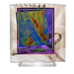 Nude 3 Shower Curtain by Mauro Celotti