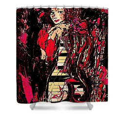 Nude 4 Shower Curtain by Natalie Holland