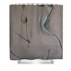 Nude Dancer Shower Curtain by Rory Sagner