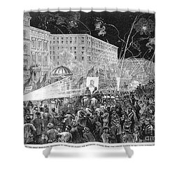 Nyc: Democrat Parade, 1876 Shower Curtain by Granger