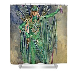 Oberon Shower Curtain by C Wilhelm