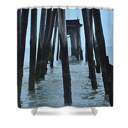 Ocean City 59th Street Pier Shower Curtain by Bill Cannon