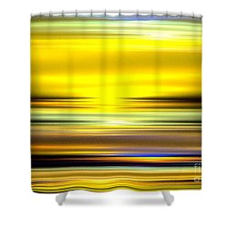 Ocean Sunrise Shower Curtain by Greg Moores