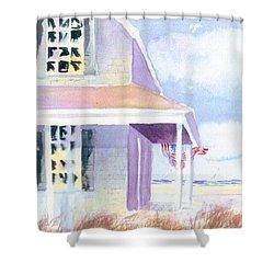 Ocean View Shower Curtain by Joseph Gallant