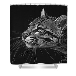 Ocelot Shower Curtain