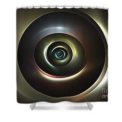 Ocular Lens Shower Curtain by Kim Sy Ok