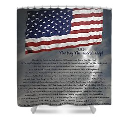 Ode For September Eleven Anniversary Shower Curtain