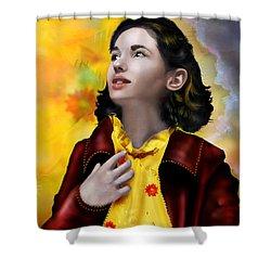 Ofelia's Dream Shower Curtain by Mary Hood