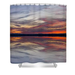Off Highway 99 Shower Curtain