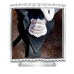 Officer Griffin Shower Curtain by Danielle  Parent