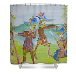 Oh So Charming Shower Curtain