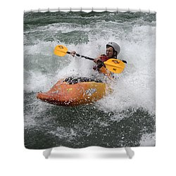 Oh What A Feeling Shower Curtain by Bob Christopher