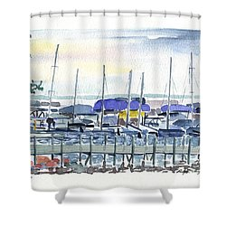 Okoboji Shower Curtain
