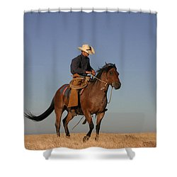 Ol Chilly Pepper Shower Curtain by Diane Bohna