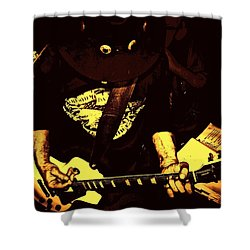 Ol School Shower Curtain by Chris Berry