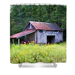 Old Barn Near Silversteen Road Shower Curtain